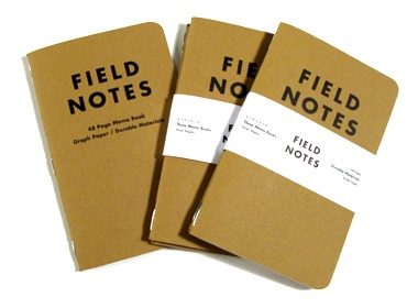 Randy Cantrell loves Field Notes notebooks