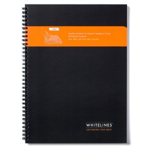 Randy Cantrell just started using the Whitelines notebooks