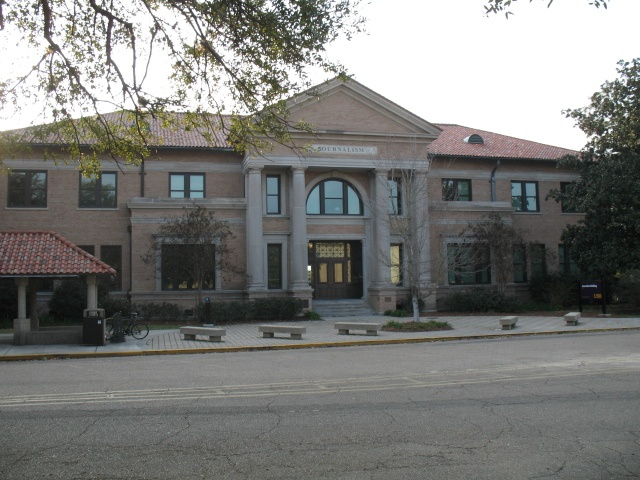 LSU School of Journalism (front)