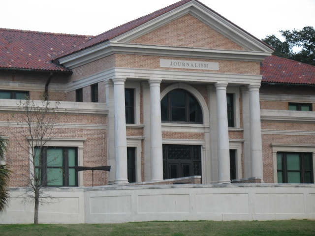 LSU School of Journalism (rear)