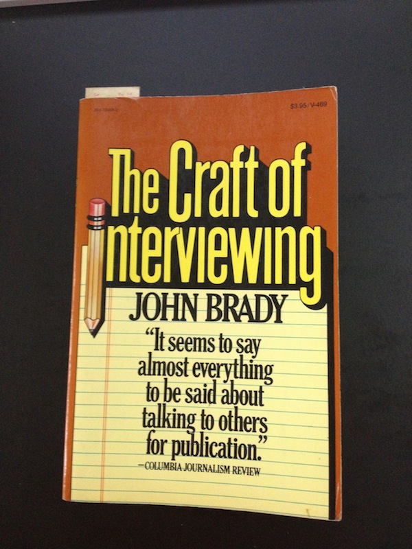 The-Craft-Of-Interviewing