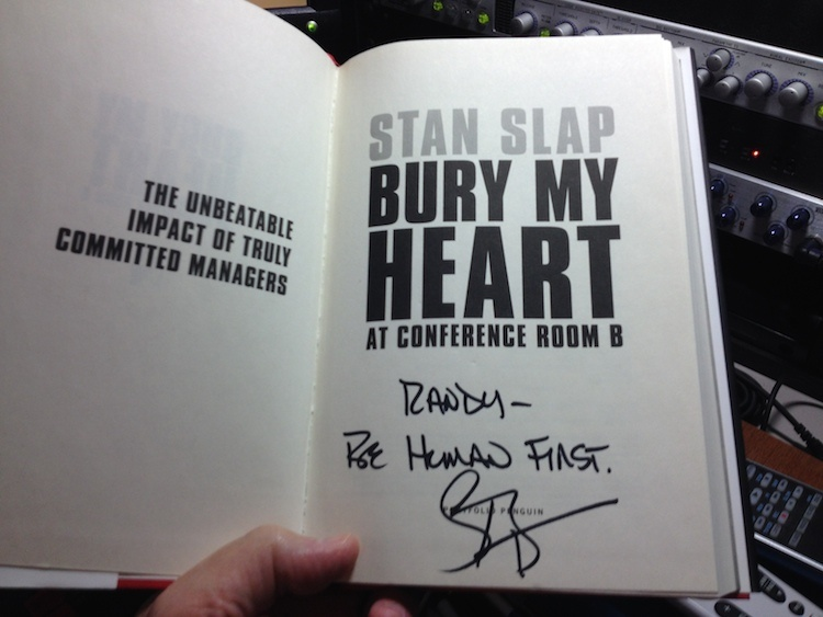 Stan Slap - Bury My Heart In Conference Room B