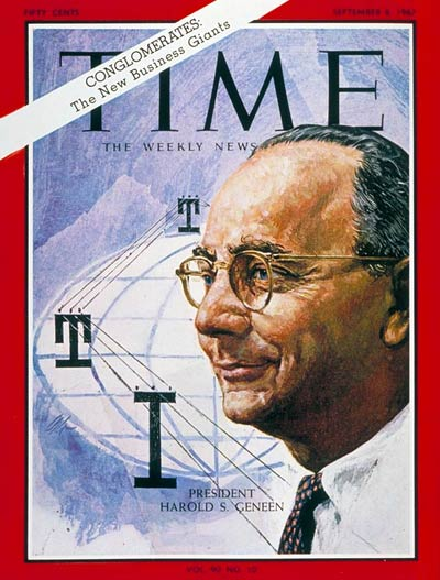 Time Magazine cover - September 8, 1967 - Harold Geneen