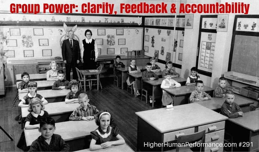 Group Power: Clarity, Feedback & Accountability - HIGHER HUMAN PERFORMANCE Podcast Episode 291