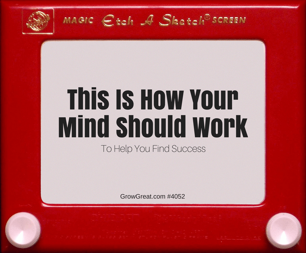 Magic Screen: This Is How Your Mind Should Work (To Find You Find Success) #4052 - GROW GREAT