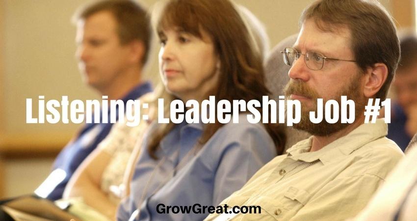 TPA5035 - Listening: Leadership Job #1 - THE PEER ADVANTAGE