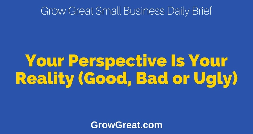 Your Perspective Is Your Reality (Good, Bad or Ugly) – Grow Great Small Business Daily Brief – July 2, 2018